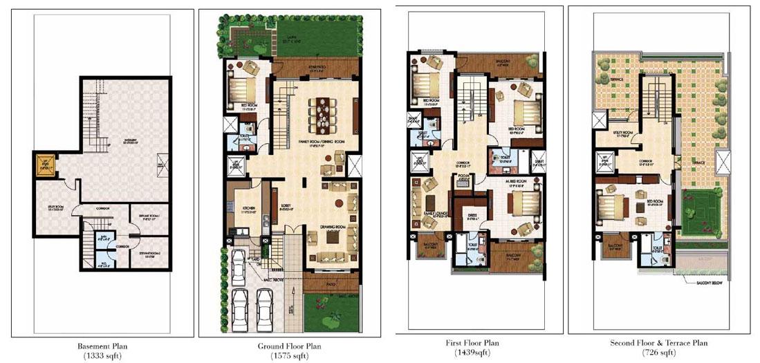 The Estate Villas 300 sqys.
