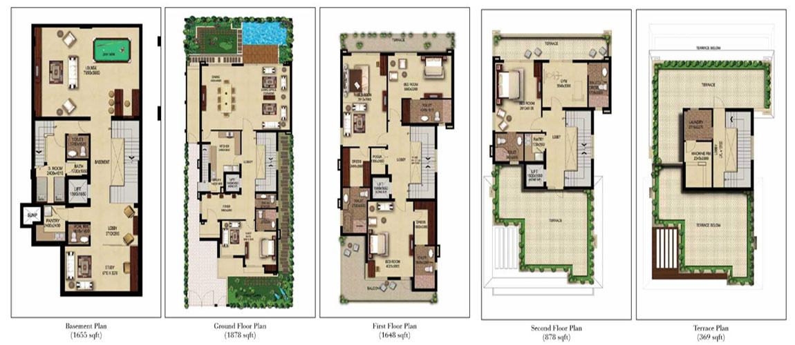 The Estate Villas 400 sqys.