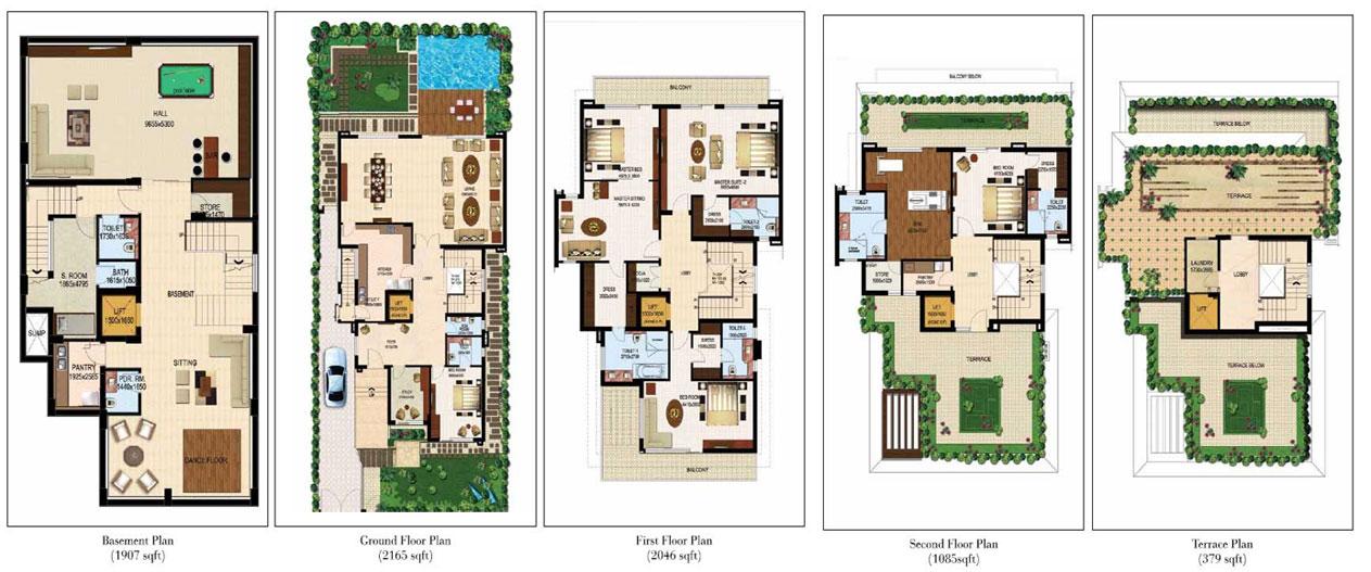 The Estate Villas 500 sqys.