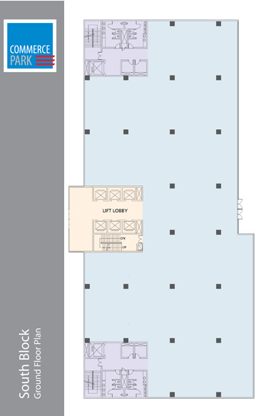 South Block - Ground Floor Plan